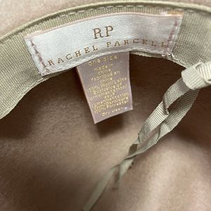 Rachel Parcell Velvet Trim Wool Panama Hat